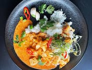 Lychee Red Curry - kurczak