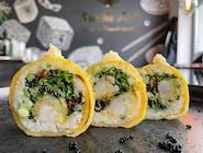 Tamago Shrimp Salad