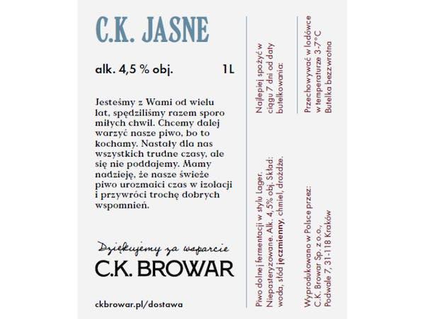 C.K. Jasne, PET 1l