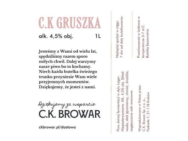 C.K. Gruszka, PET 1l