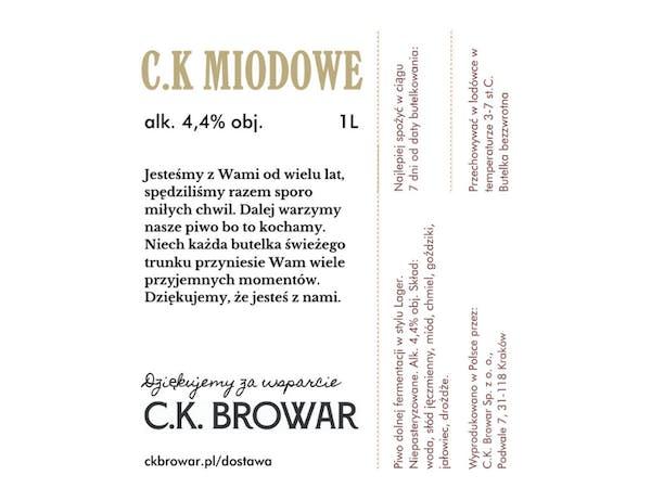 C.K. Miodowe, PET 1l