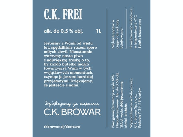 C.K. Frei, PET 1l