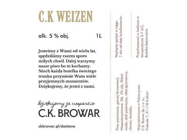 C.K. Weizen, PET 1l