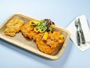 Wienner Schnitzel, ziemniaki, kapusta zasmażana 200 200 200