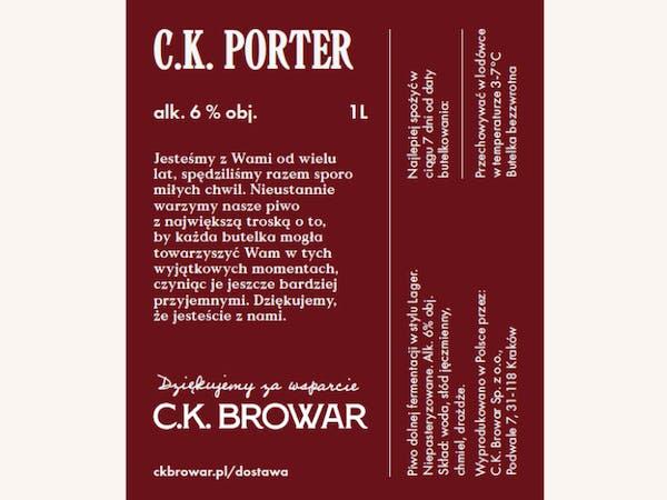 C.K. Porter PET 1l