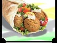 Kebab wegetariański duży (falafel)