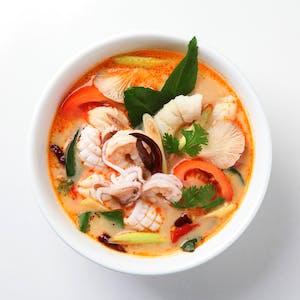 Zupa Krewetkowa ostro - kwaśna (Tom Yum)