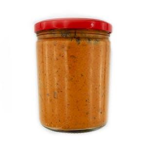 Śledziowa sałatka pikantna( curry, musztarda, chilli )