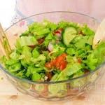 Malý šalát z čerstvej zeleniny 200g