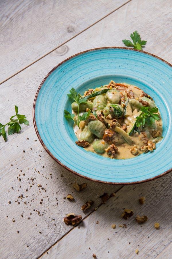 Gnocchi gorgonzola e spinaci
