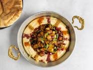 Hummus & Bakłażan