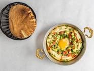Hummus & Jajko sadzone
