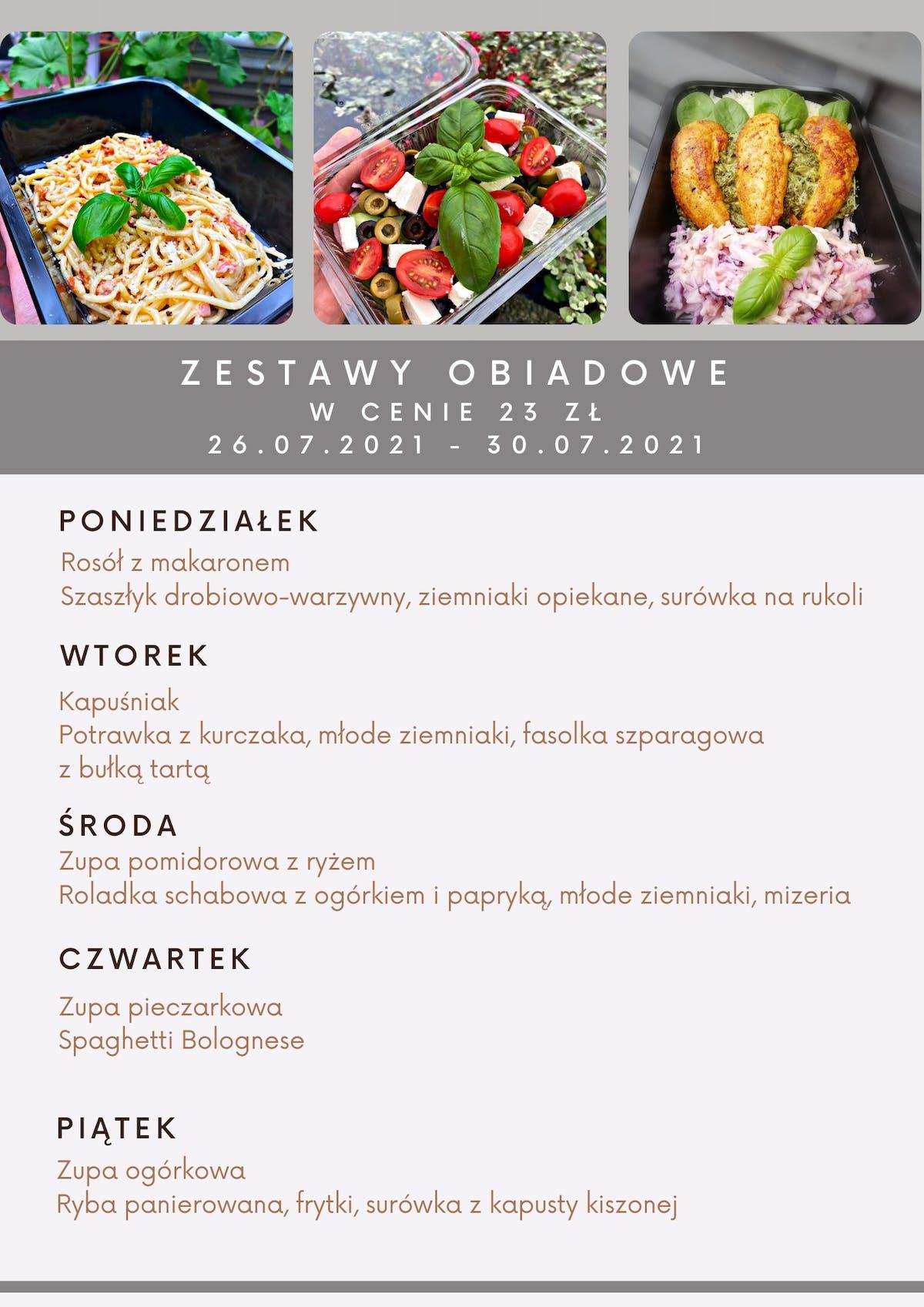 Zestaw Obiadowy
