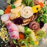 Sashimi 5 kawałków owoców morza