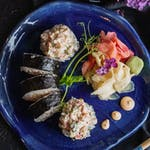 Futomaki z sałatką kraby-krewetki