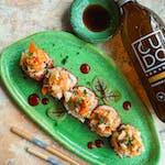 Uramaki Kimchi Ebi