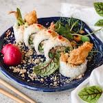 Uramaki krab tempura