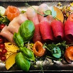 Sashimi 15 kawałków