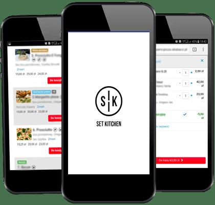 Pobierz naszą aplikację<br>Zamawiaj szybciej !<br>