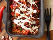 Burrito Vegetarian la Farfurie