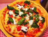 Pizza nduia e burrata