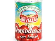 DIVELLA POMODORINI CON BUCCIA ITALIANI – WŁOSKIE POMIDORKI CHERRY ZE SKÓRKĄ, PUSZKA 400G