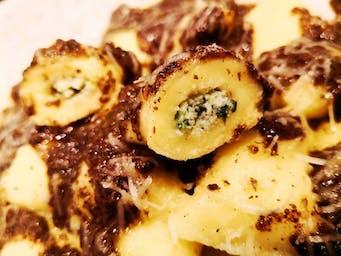 Nowe gnocchi z ricottą w sosie truflowym