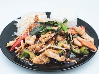 Kurczak Thai Basil