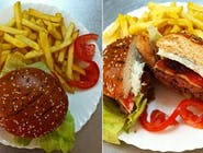 Hamburger de vită Maestro de casă
