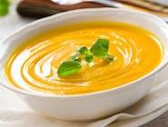 Supă cremă de legume cu crutoane