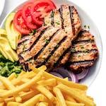 Hamburger Fit Na Talerzu