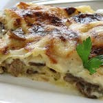 Domáce lasagne Salsiccia