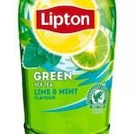 Lipton zielona herbata z limonką i miętą 500 ml