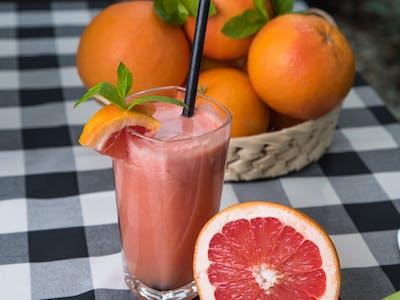 Sok świeżo wyciskany z pomarańczy i grejpfruta 0,3l