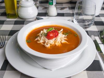 Pomidorowa z domowymi kluseczkami 250ml