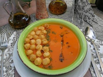 Zupa dnia:  Krem ze świeżych pomidorów i papryki