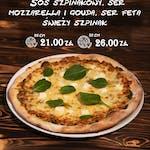 Pizza Agli Spinaci