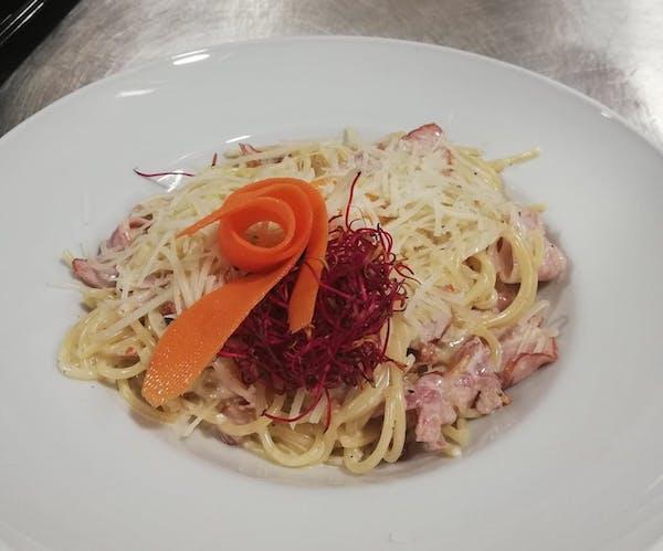 Spaghetti ala carbonara