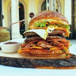 Double Tower burger