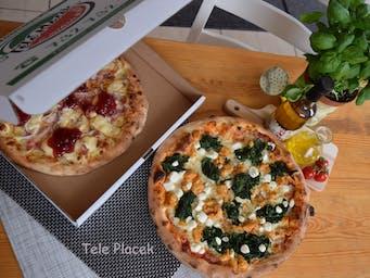 Pizza Góralska i Pizza Szpinakowa