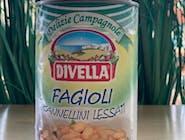 Fagioli Cannellini Lessati DIVELLA 400 g