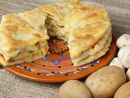 Plăcinte cu Cartofi, Ciuperci și Cremă de Trufe