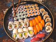 Sushi Lover - 64 szt. + 12 szt. gratis = 76 szt.