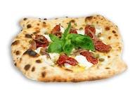 Siciliana - anchois z serem ricotta, kaparami i pomidorami