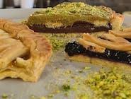 Crostata pistacjowo-czekoladowa