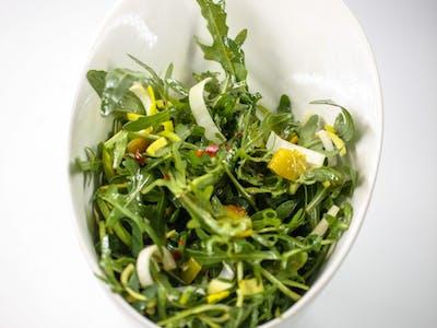 Salată de rucola cu praz