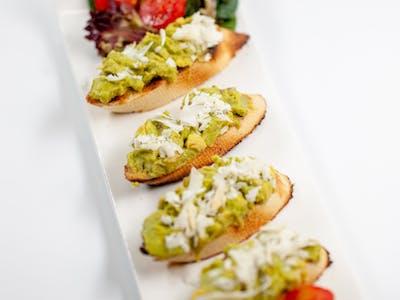 Bruschette cu Guacamole