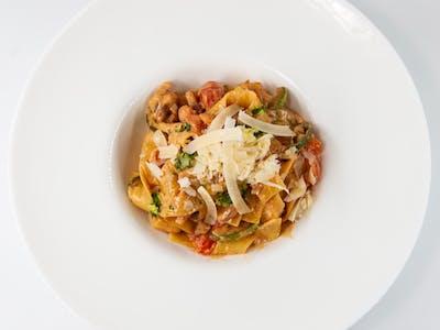 Tagliatelle Jacqueline (casei) cu Zucchini