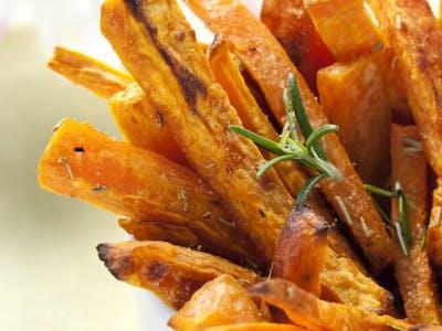 Cartofi Dulci - coriandru, chilli, lemongras