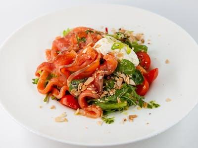 Smokey Salmon Salad